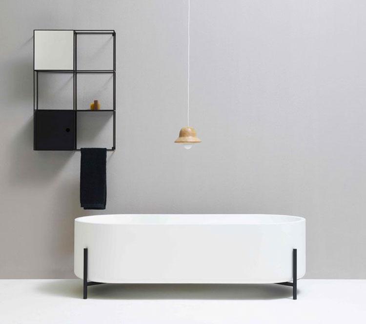 Modello di vasca da bagno piccolo e moderna n.16