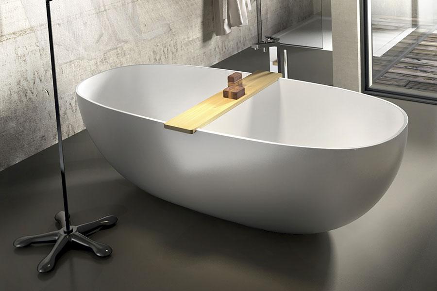 Modello di vasca da bagno piccolo e moderna n.18