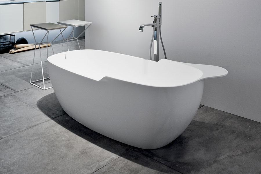 Modello di vasca da bagno piccolo e moderna n.19