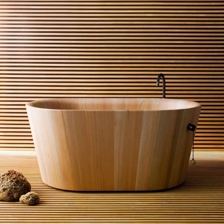 Modello di vasca da bagno piccolo e moderna n.20