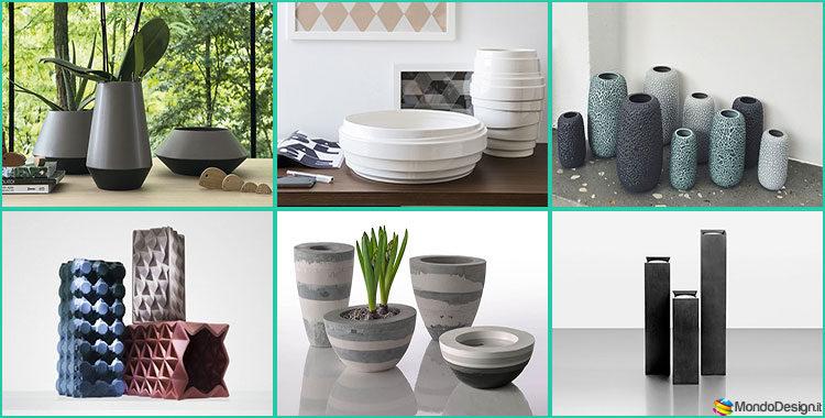 Vasi Ceramica Design Moderno
