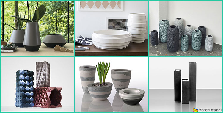 30 stupendi vasi in ceramica dal design moderno for Vasi design per interni