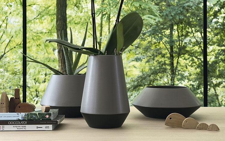 Modello di vaso in ceramica dal design moderno n.16