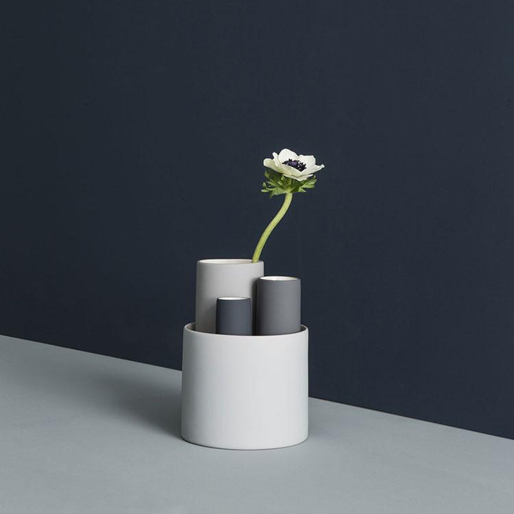 Modello di vaso in ceramica dal design moderno n.19