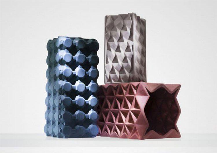 Modello di vaso in ceramica dal design moderno n.20