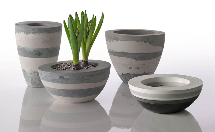 Modello di vaso in ceramica dal design moderno n.22