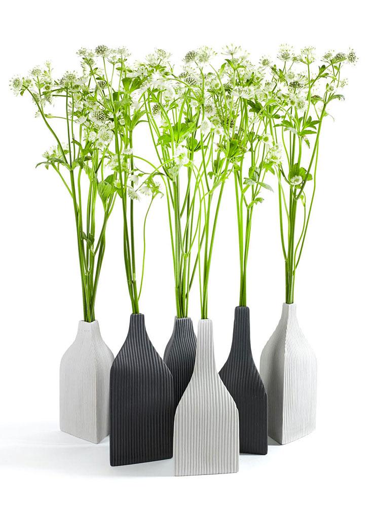 Modello di vaso in ceramica dal design moderno n.24