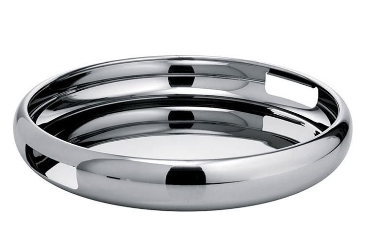 Modello di vassoio in acciaio dal design particolare n.10