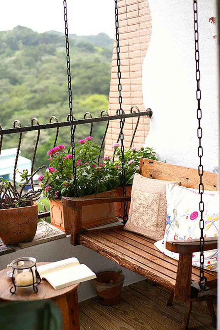 Idee per decorare i balconi n.02