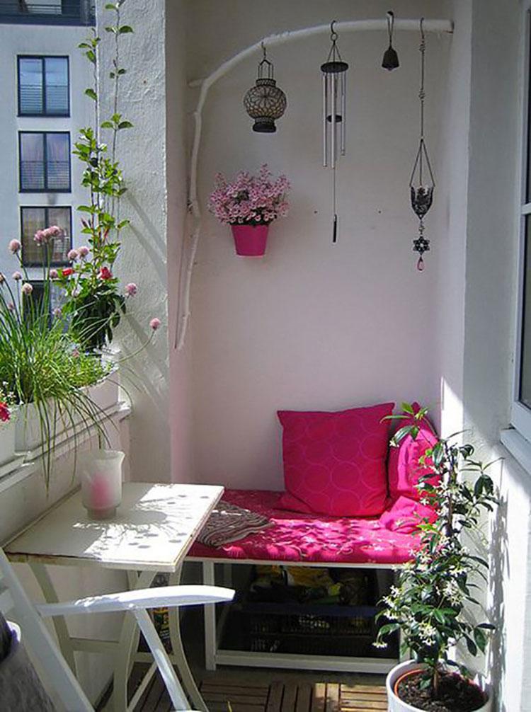 Idee per decorare i balconi n.05