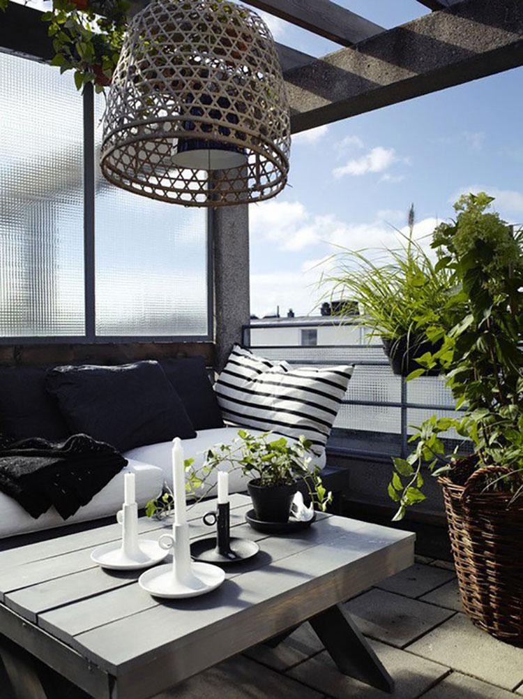 Idee per decorare i balconi n.06