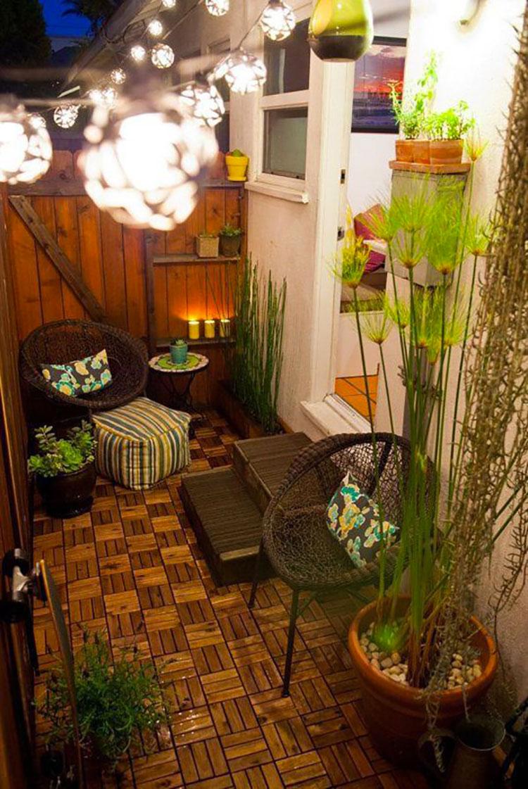 Idee per decorare i balconi n.09