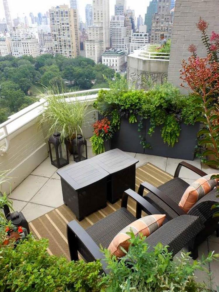 Idee per decorare i balconi n.18