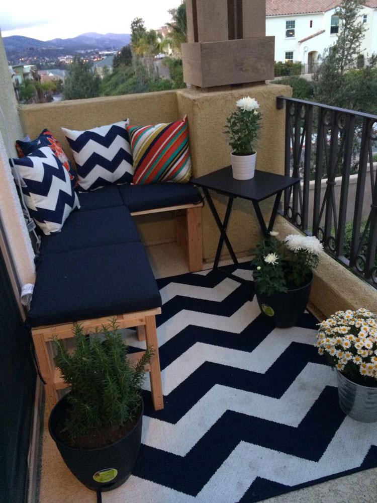 Idee per decorare i balconi n.20
