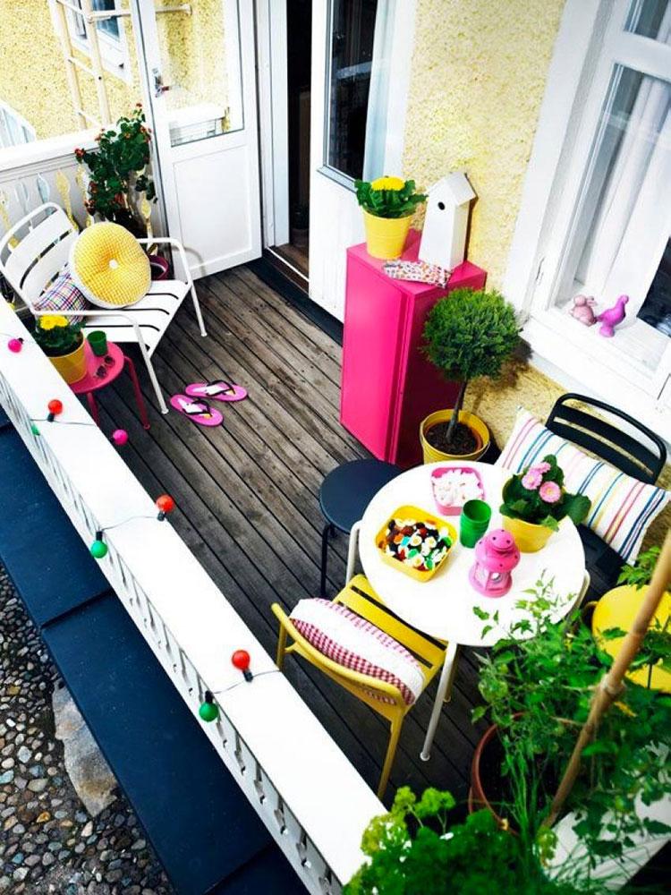 Idee per decorare i balconi n.21