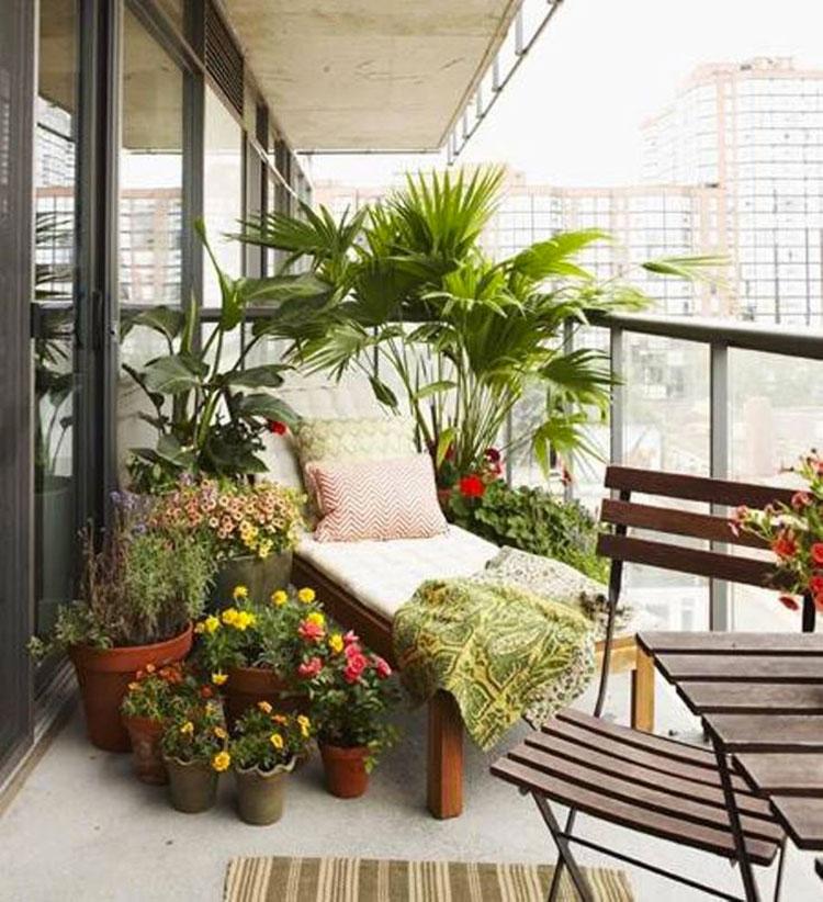 Idee per decorare i balconi n.23