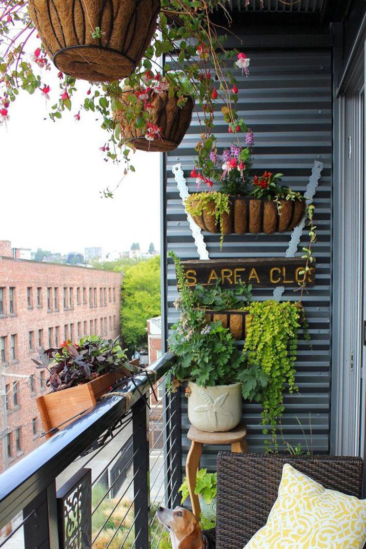 Idee per decorare i balconi n.26