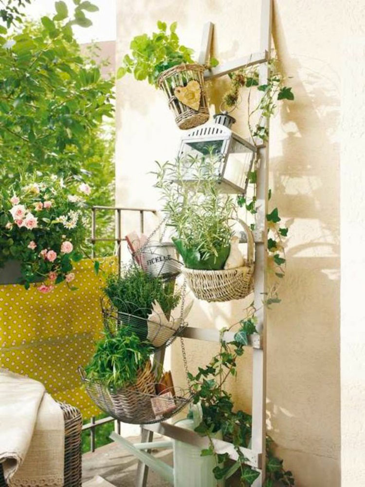 Idee per decorare i balconi n.27