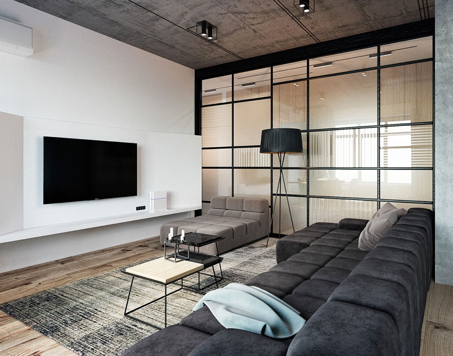 Idea per arredare un loft open space n.12
