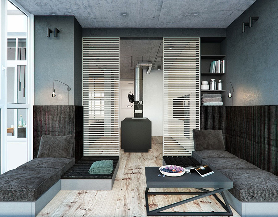 Idea per arredare un loft open space n.14