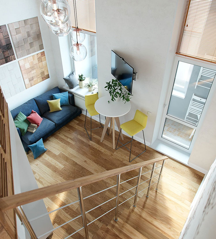 Idea per arredare un loft open space n.22