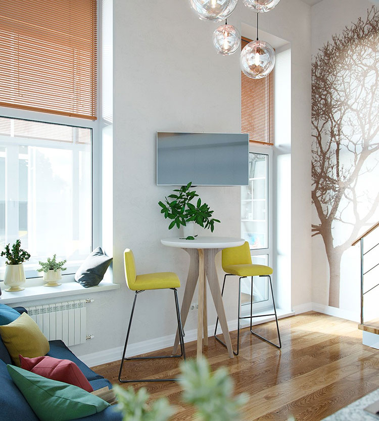 Idea per arredare un loft open space n.23