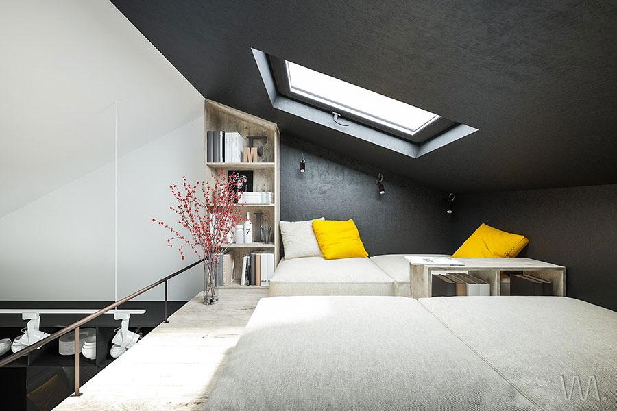 Idea per arredare un loft open space n.30