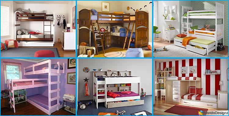 Camerette per Bambini con 3 Letti: 25 Idee di Arredo Originali