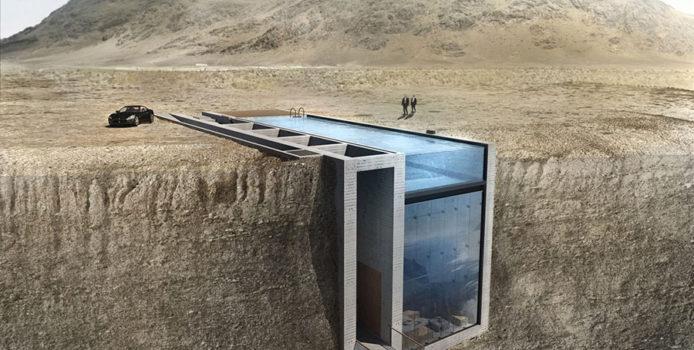 """Casa nella Roccia da Sogno: il Progetto Visionario """"Casa Brutale"""""""