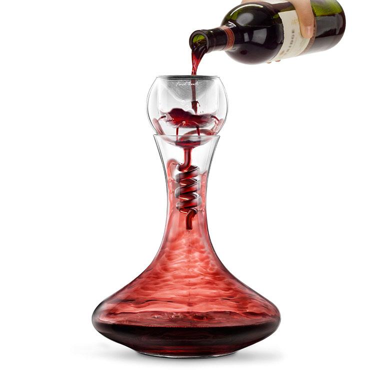 Decanter per vino dalla forma particolare n.02