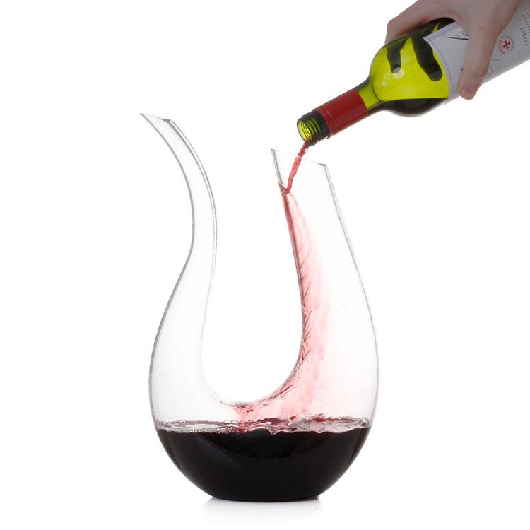 Decanter per vino dalla forma particolare n.08