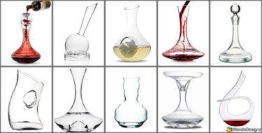 20 Decanter per Vino di Design dalla Forma Particolare