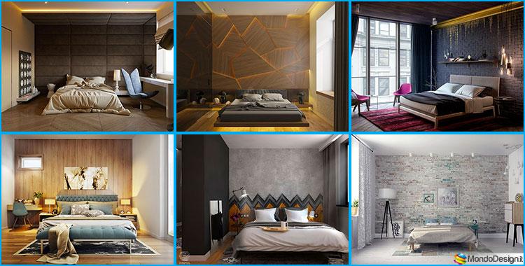 Dipingere Parete Dietro Il Letto : Idee per colori di pareti per la camera da letto mondodesign