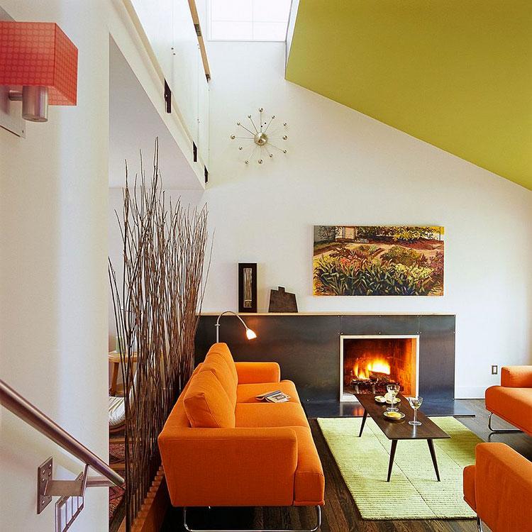pareti divisorie in vetromattoni : Divisori Salotto Cucina: Cucine con divisori: una casa tante idee da ...