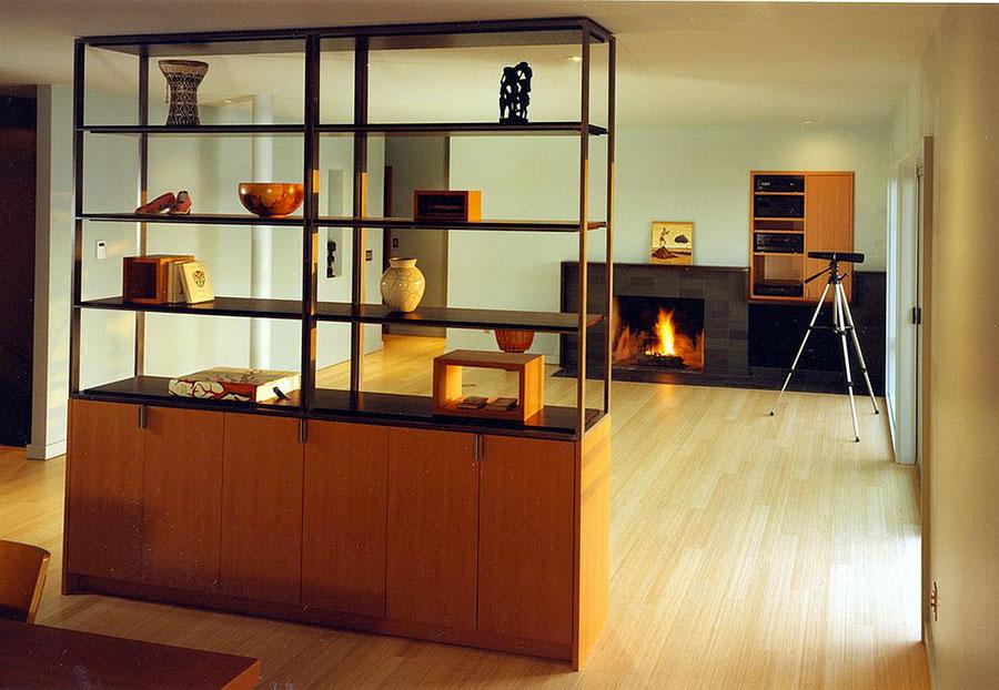 Come separare gli ambienti con mobili e pareti divisorie n.06