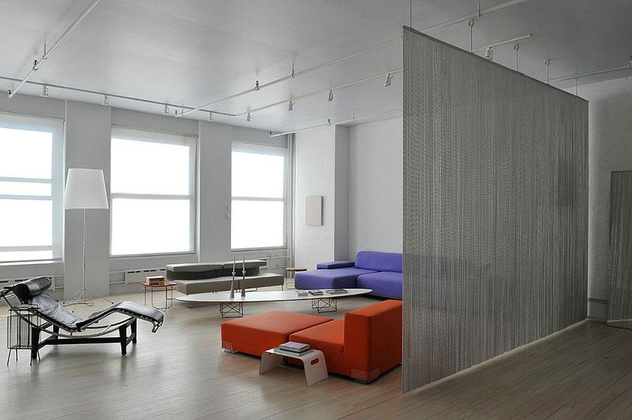 Come separare gli ambienti con mobili e pareti divisorie n.09