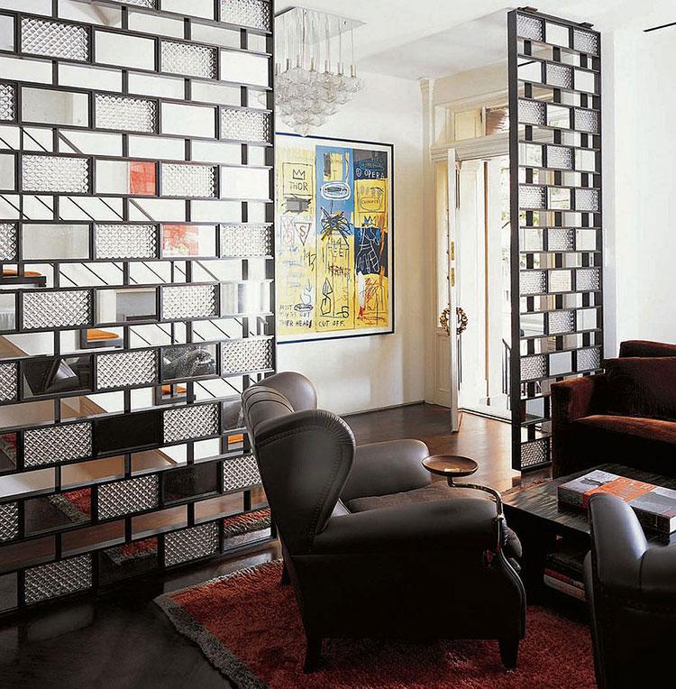 Come separare gli ambienti con mobili e pareti divisorie n.11