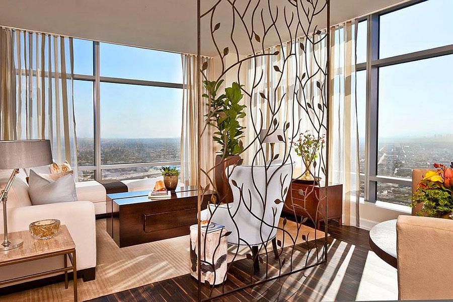 Come separare gli ambienti con mobili e pareti divisorie n.Come separare gli ambienti con mobili e pareti divisorie n.12