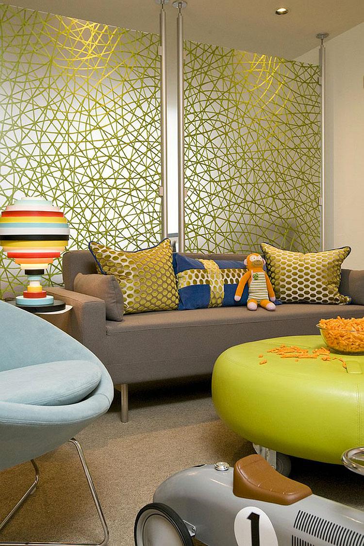 Come separare gli ambienti con mobili e pareti divisorie n.14