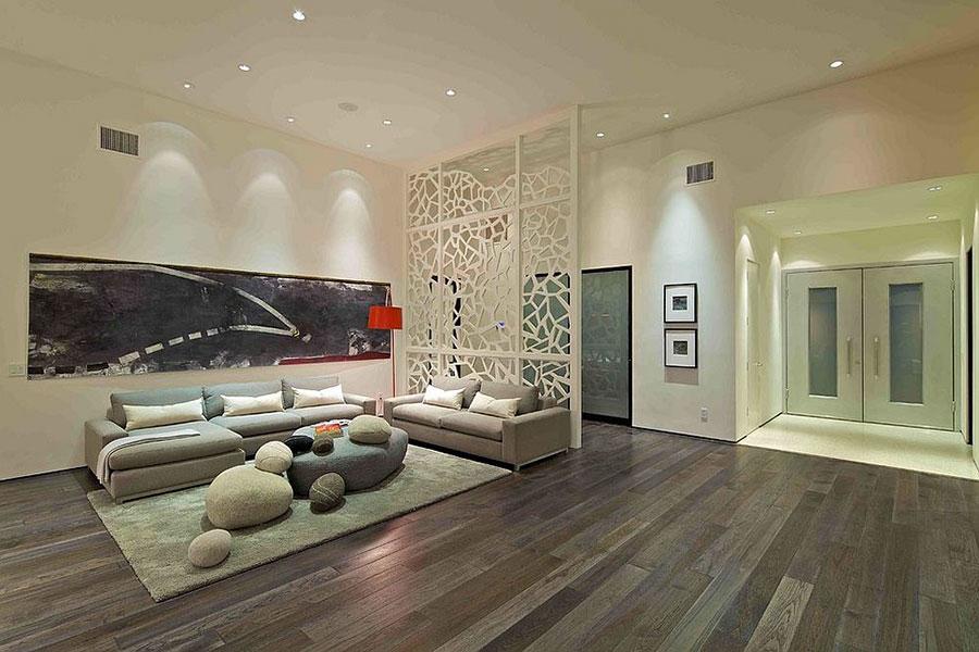Come separare gli ambienti con mobili e pareti divisorie n.16
