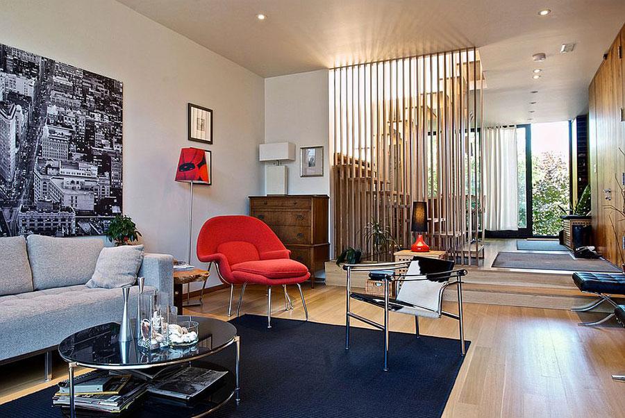 Come separare gli ambienti con mobili e pareti divisorie n.17