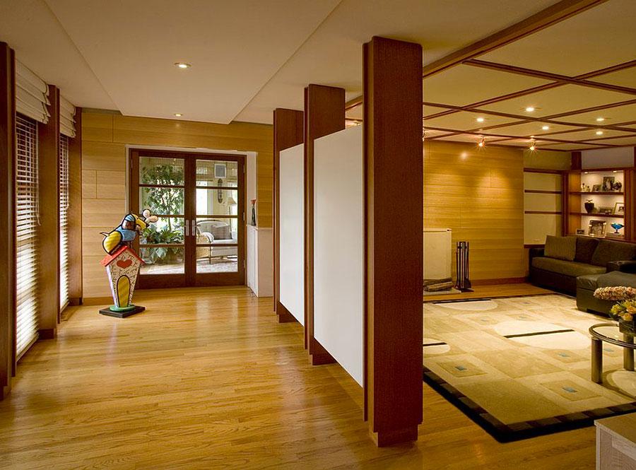 Come separare gli ambienti con mobili e pareti divisorie n.20
