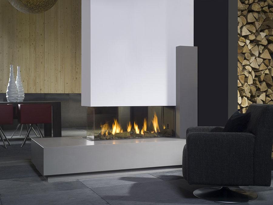 Come separare gli ambienti con mobili e pareti divisorie n.21