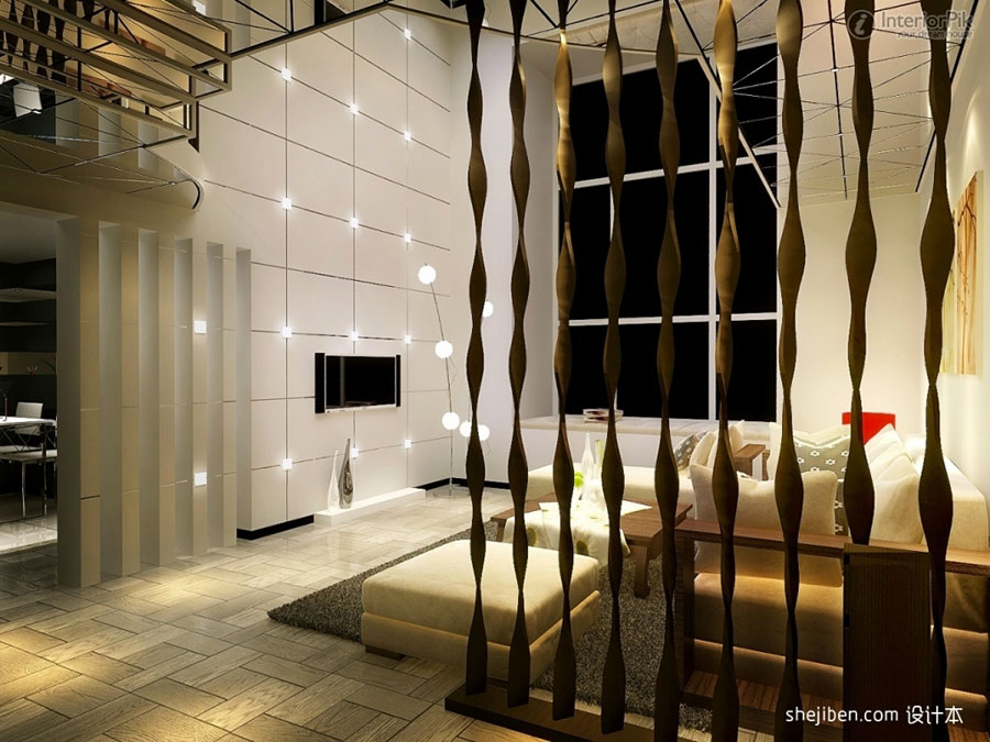 Come separare gli ambienti con mobili e pareti divisorie n.23