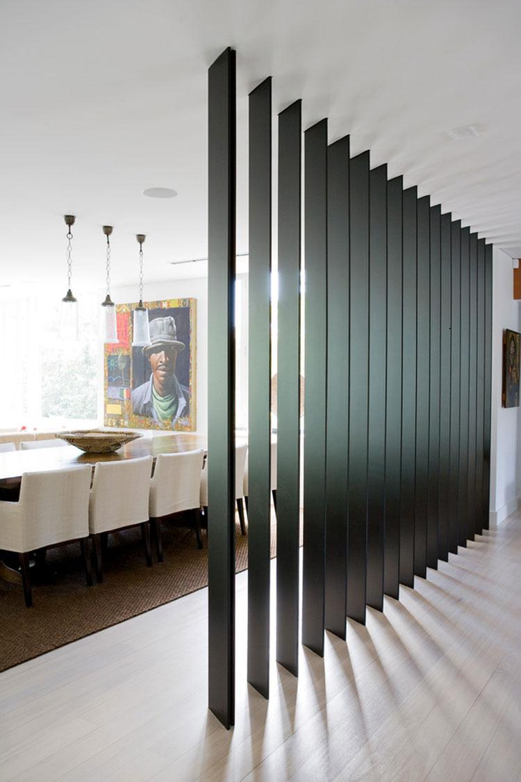 Come separare gli ambienti con mobili e pareti divisorie n.24