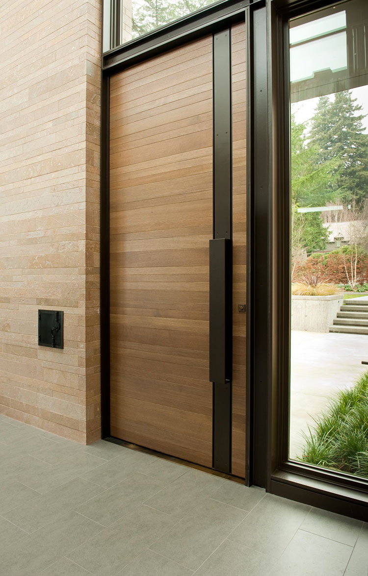 Porta di ingresso dal design moderno n.01