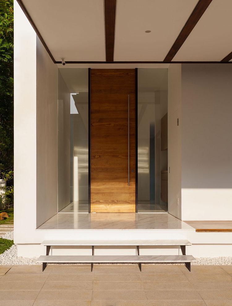 Porta di ingresso dal design moderno n.03