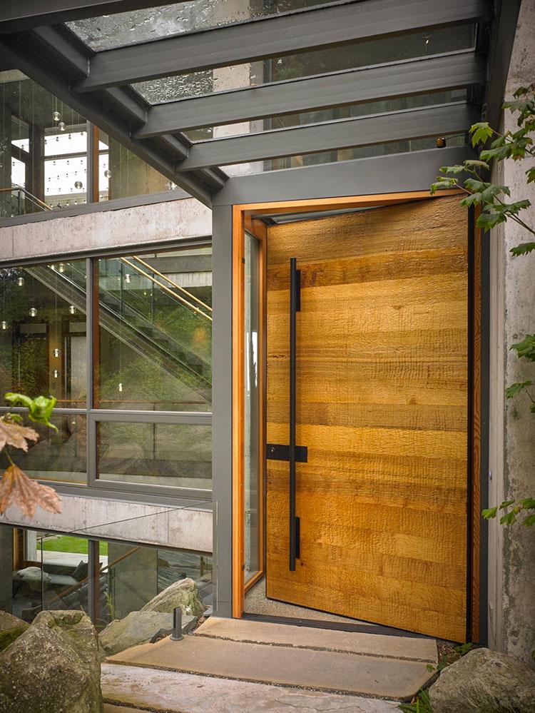 Porta di ingresso dal design moderno n.04