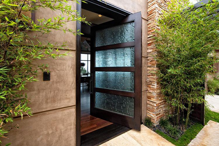 Porta di ingresso dal design moderno n.05