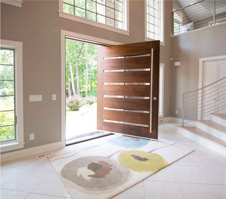 Porta di ingresso dal design moderno n.06